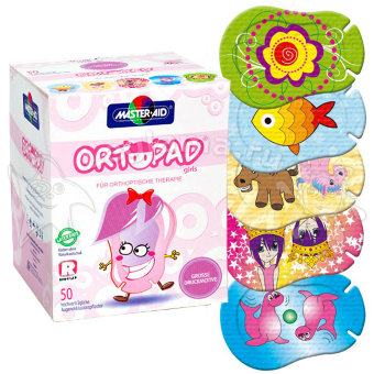 Ortopad Girls Large-Scale Design Regular / Ортопад для девочек